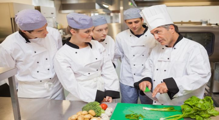 Cooking training